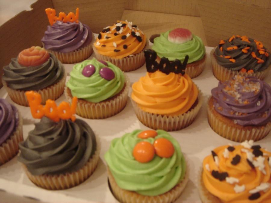 Halloween Cupcake Cakes Designs