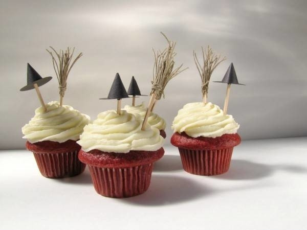 Halloween Cupcake Witch Topper