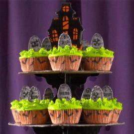 Halloween Wedding Cupcake Ideas