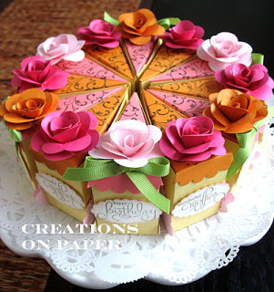 Happy Birthday Marge Cake
