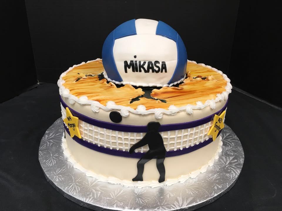 Happy Birthday Volleyball Cakes