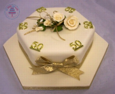 Hexagon Cake