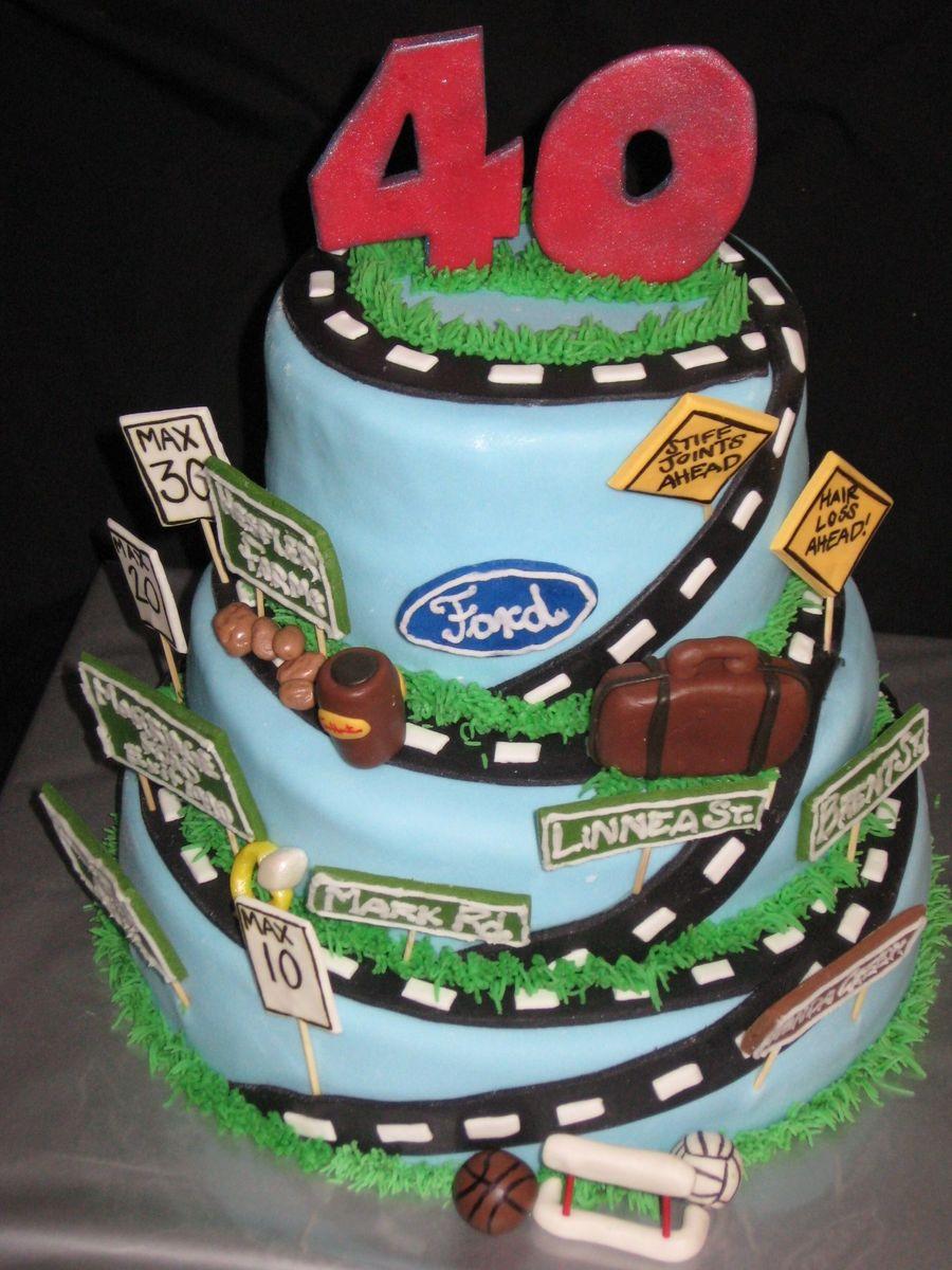 Hill Birthday Cake
