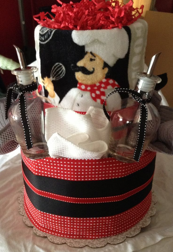Kitchen Towel Cake Gift