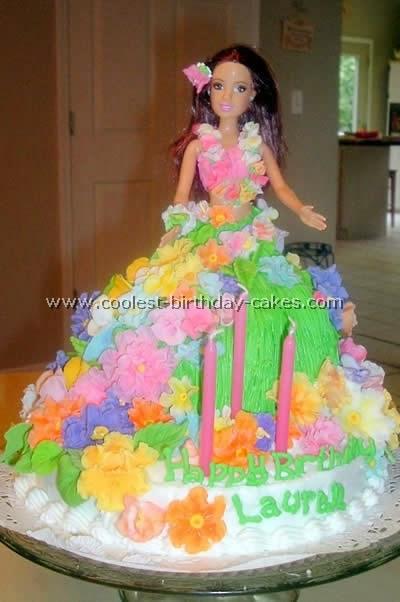 Luau Girl Birthday Cake Ideas