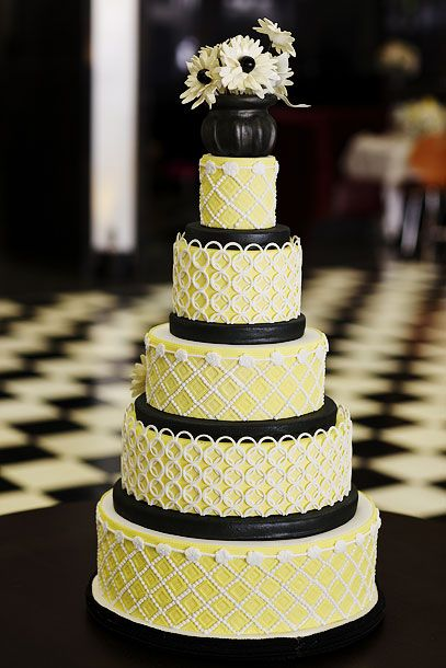 Mad Men Wedding Cake