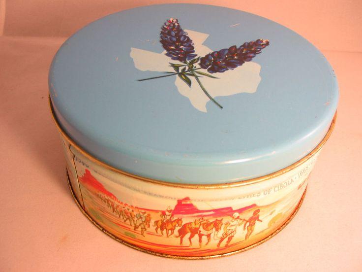 Manor Texas Fruit Cake Tin