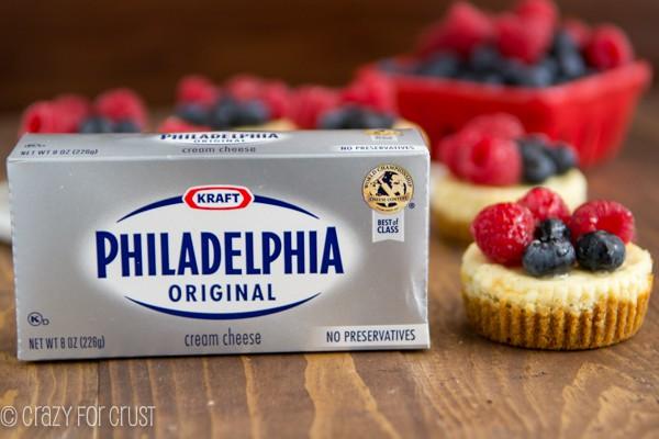 Mini Cheesecake Recipe Philadelphia Cream Cheese