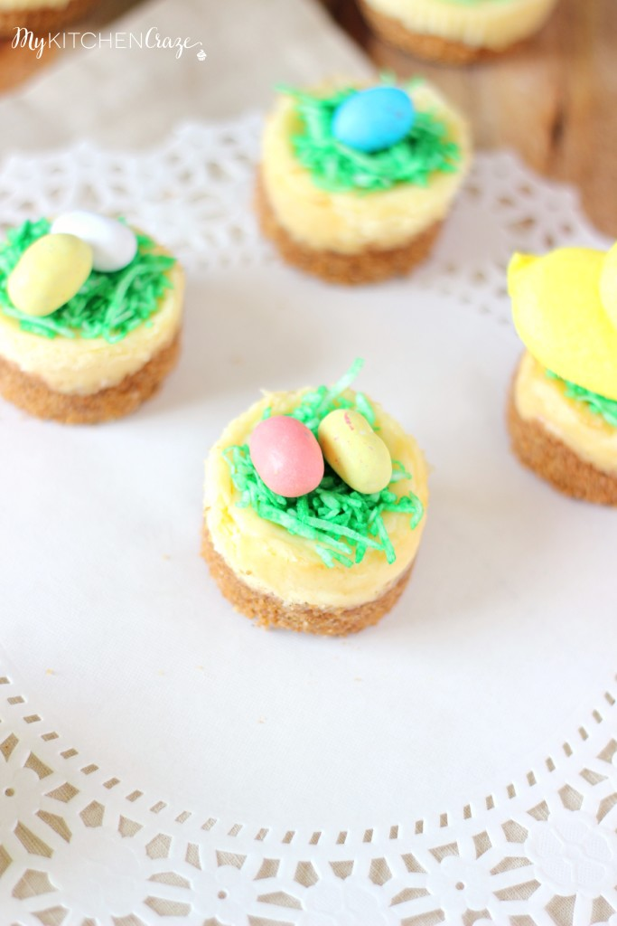 Mini Easter Cheesecakes Dessert