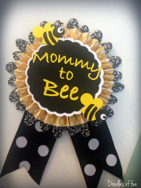 Mommy to Bee Baby Shower Idea