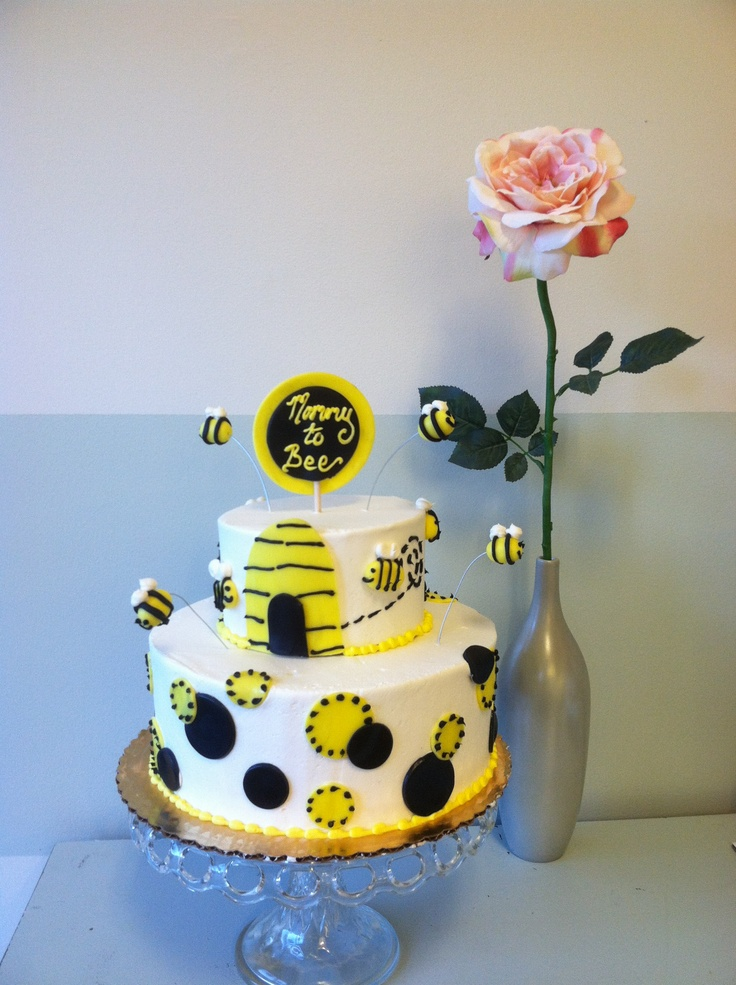Mommy to Bee Cake Ideas