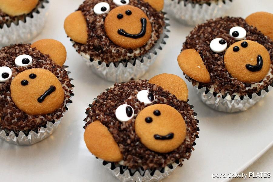 11 Photos of Animal Cupcakes Monkey