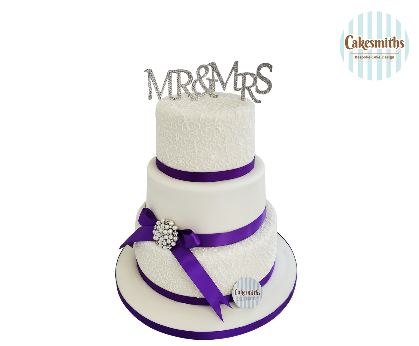 Mr. and Mrs. Smith Cake Pictures