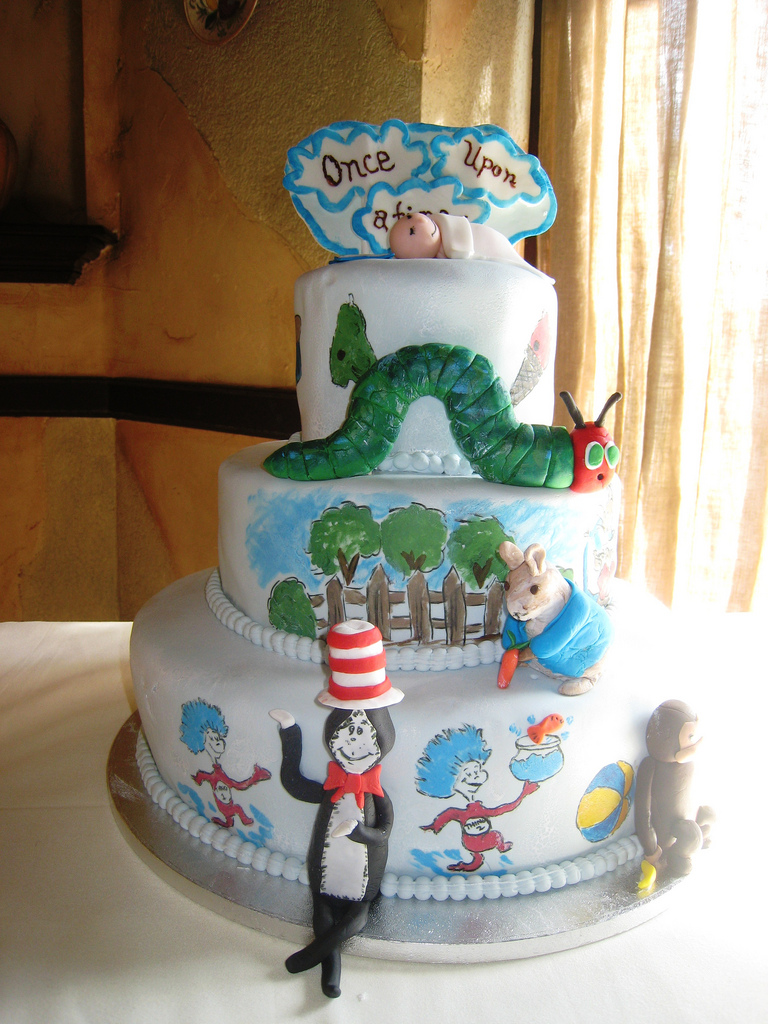 Once Upon a Time Baby Shower Cake