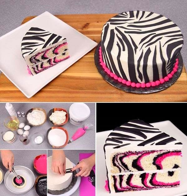 Pink Zebra Cake Recipe