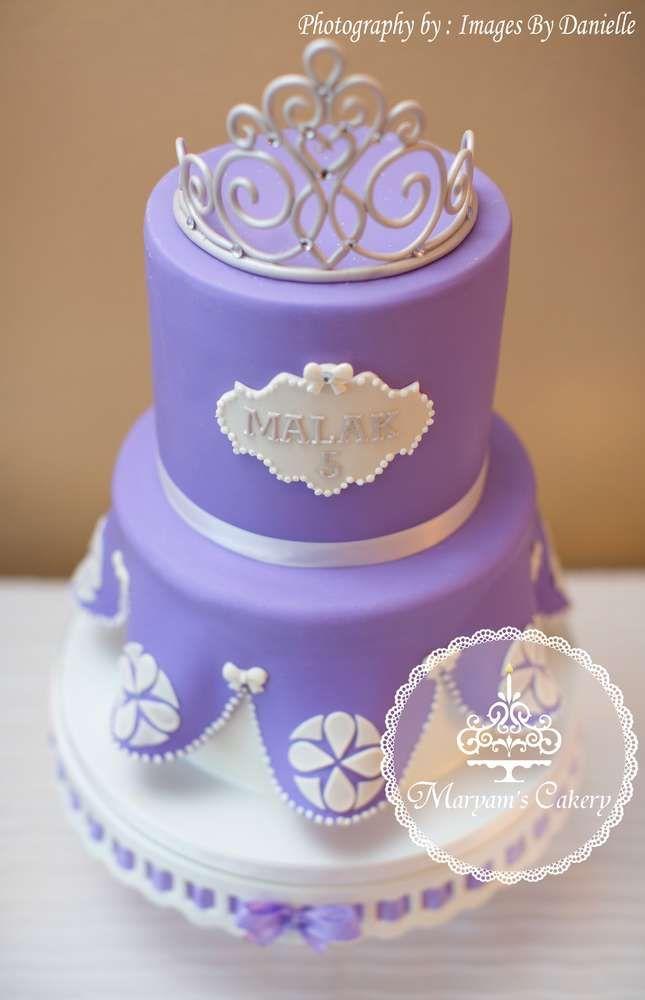 Purple and White Birthday Cake Ideas