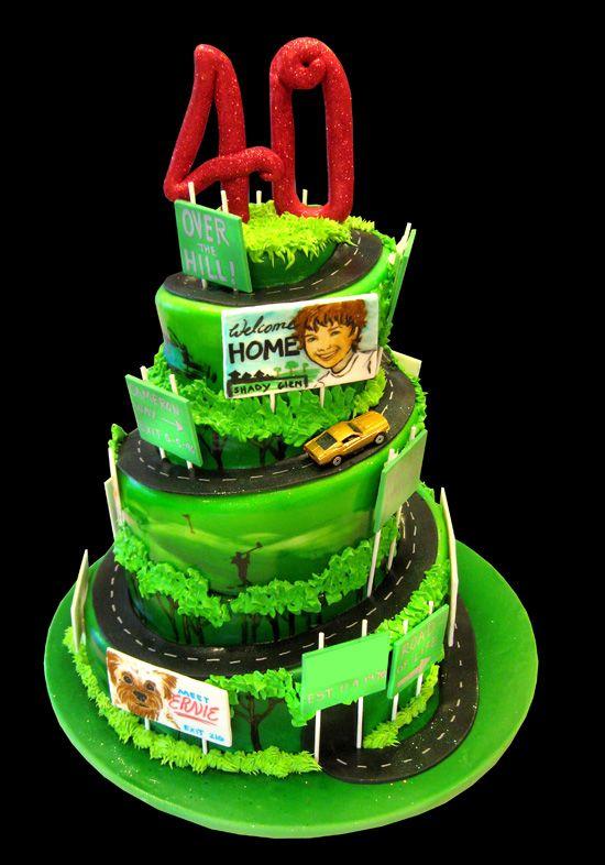Road to Life Birthday Cakes