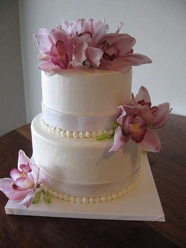Small Simple Wedding Cake Ideas