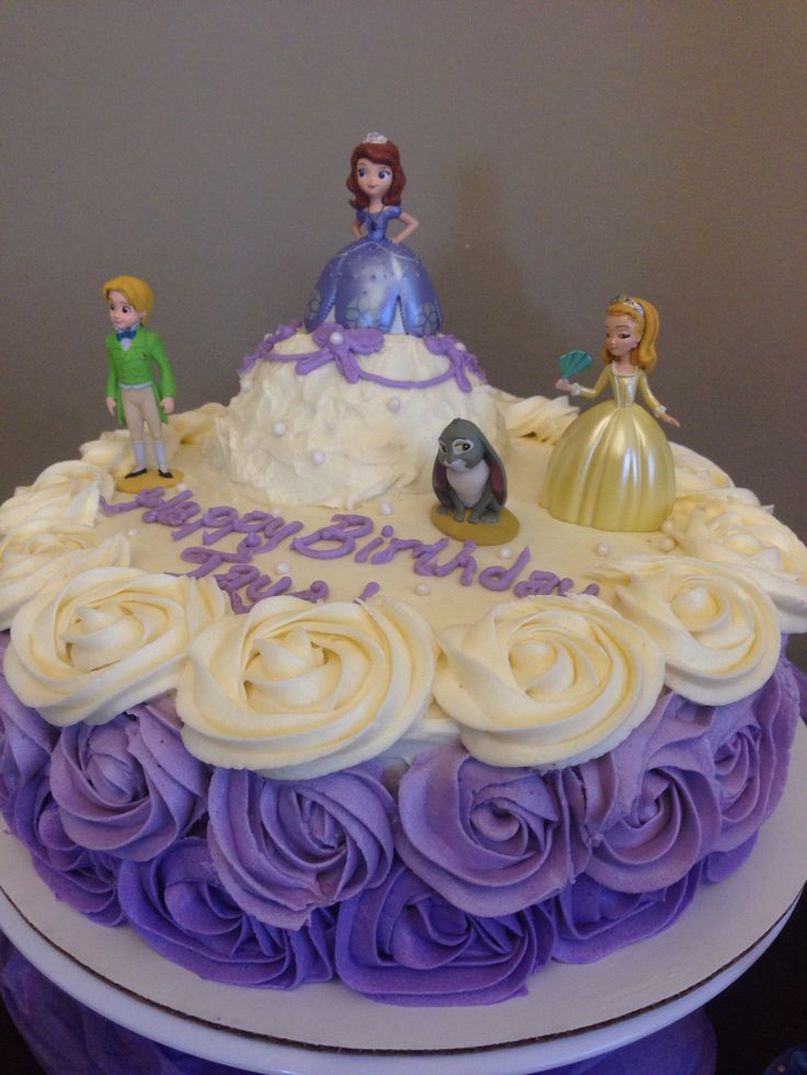 6 Photos of Andreas Sweet Cakes Sofia The First Cake