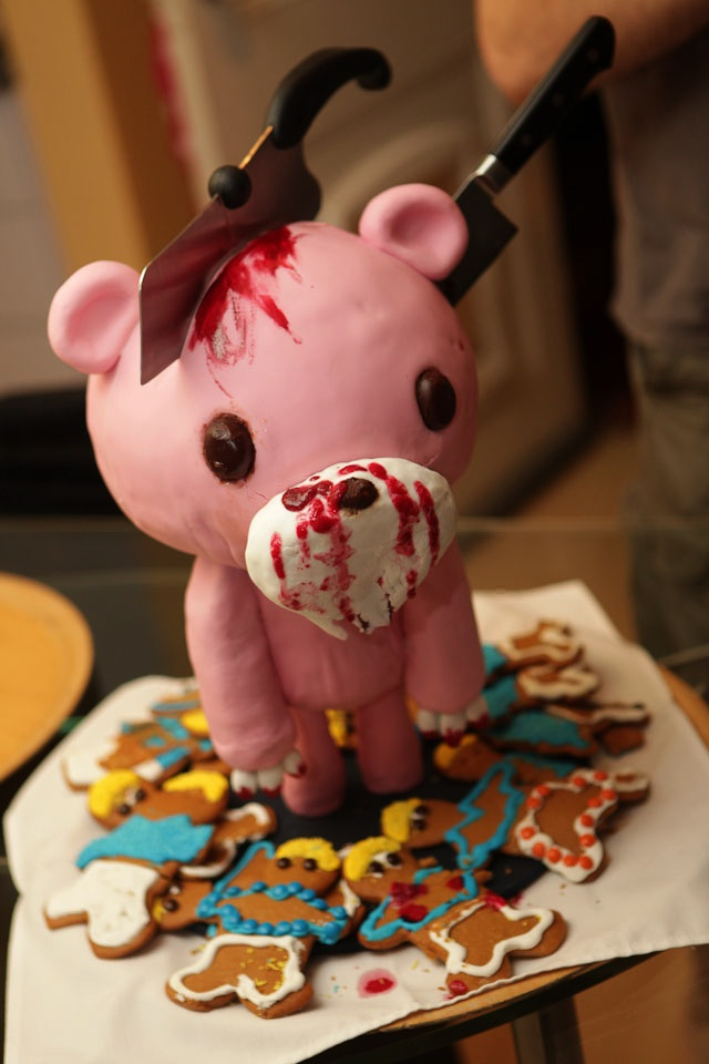 Super Creepy Cake