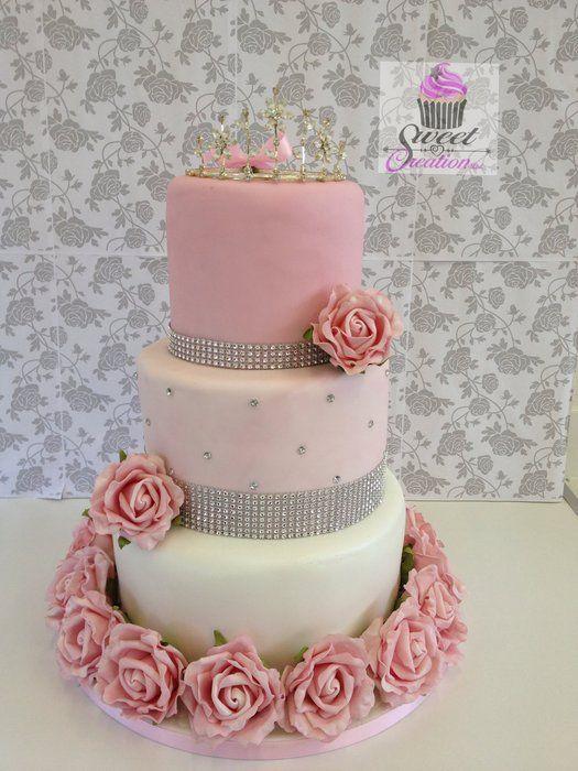 10 Photos of Diamond Sweet Sixteen Cakes For Teen