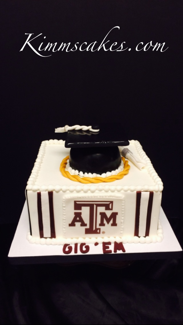 Texas A&M Graduation Cake