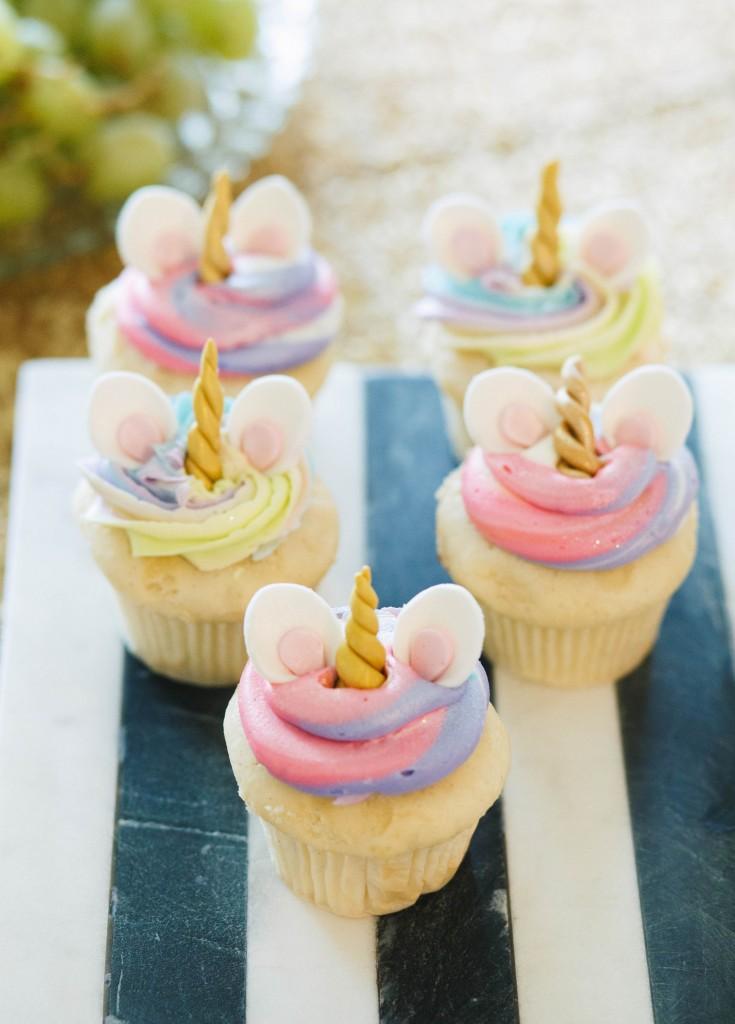Unicorn Baby Shower Cake