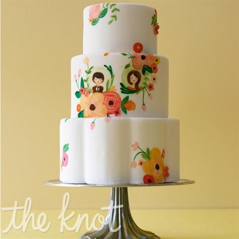 9 Photos of MSN Wedding Cakes