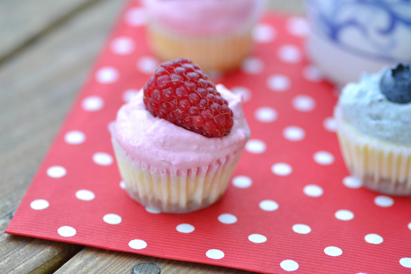 White Chocolate Raspberry Cheesecake Cupcake Recipe