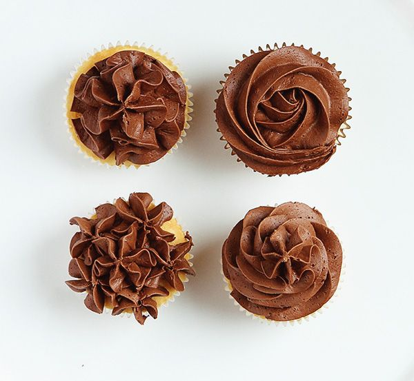 An Open Star Tip to Frost Cupcakes with a Easy Four Ways