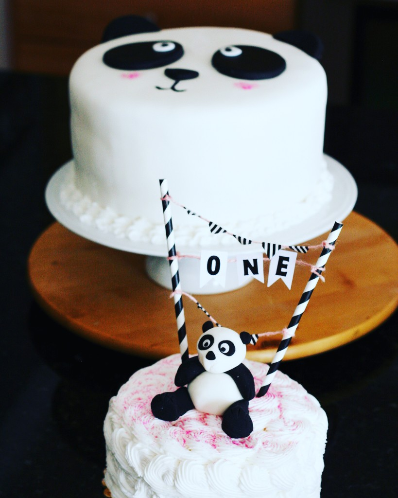 Baby Panda Cake Topper