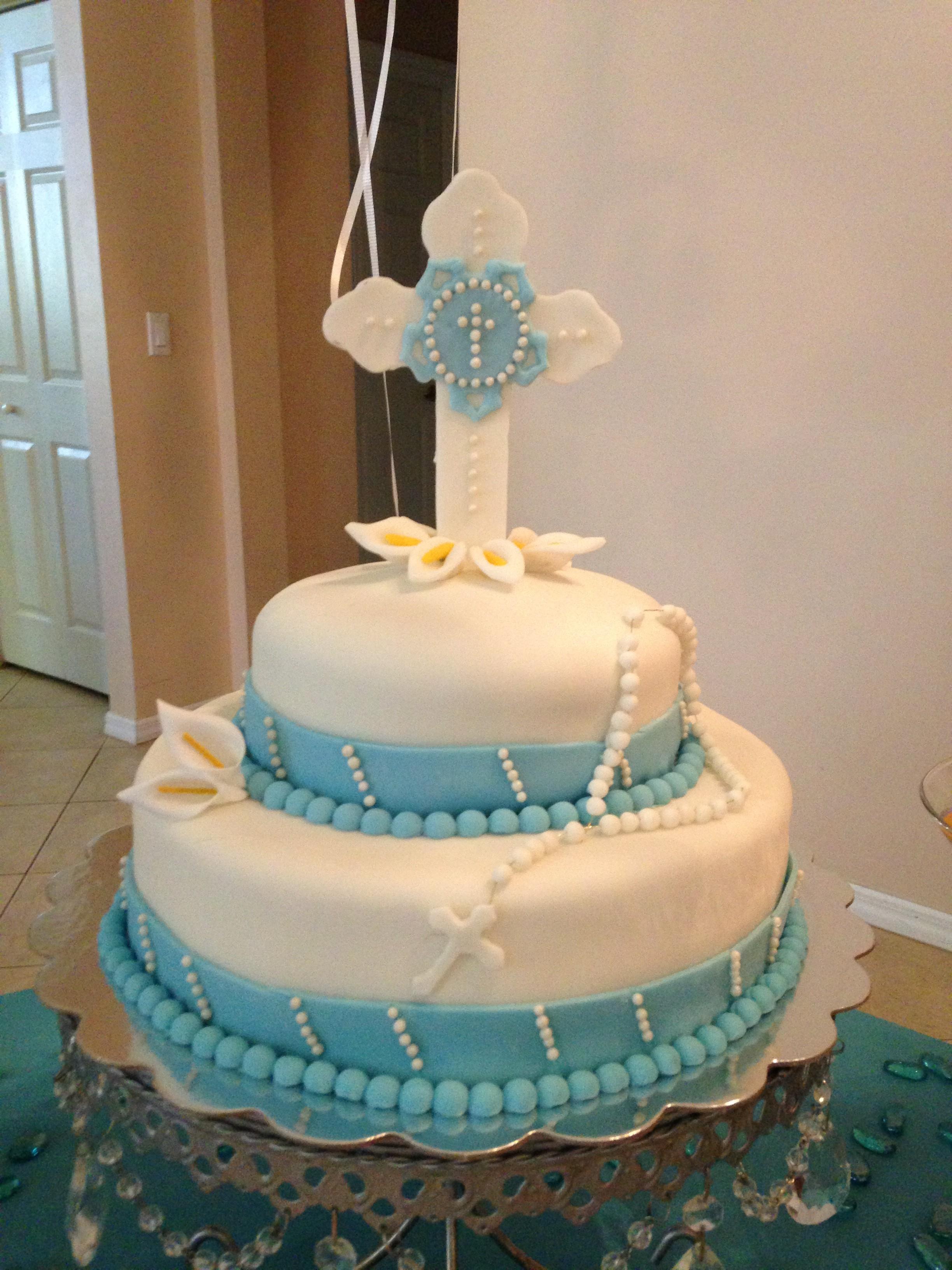 Boys First Communion Cake Ideas