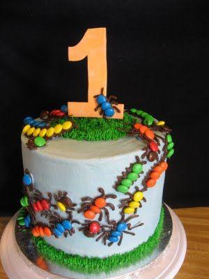 Bug 1st Birthday Cake