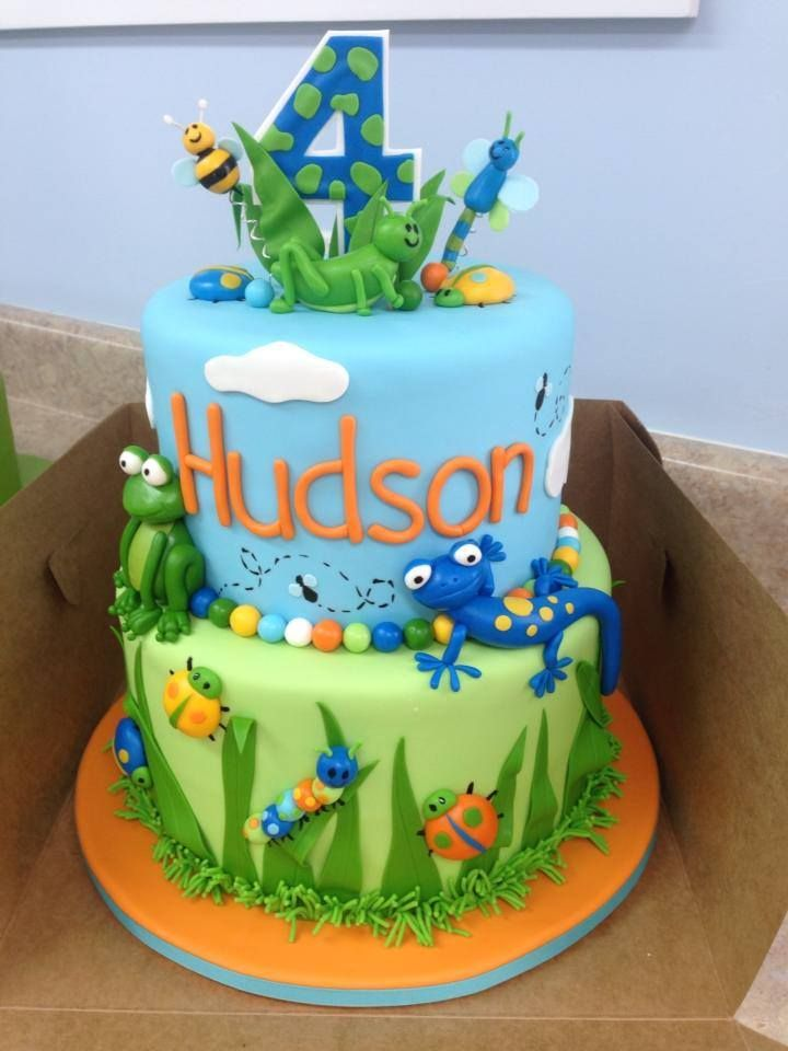 Bug Birthday Cake Idea