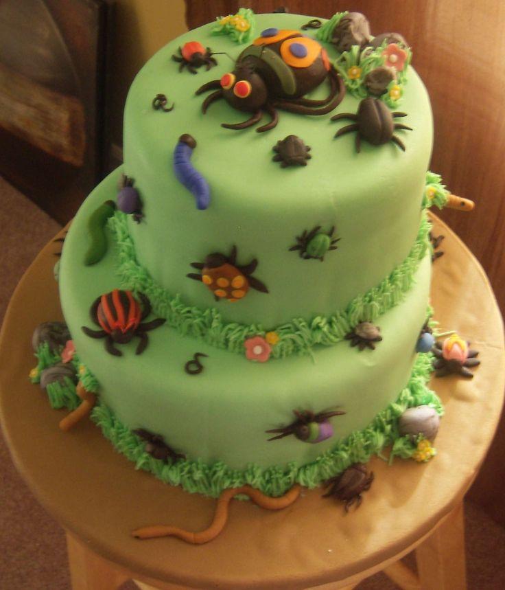 Bug Birthday Cake