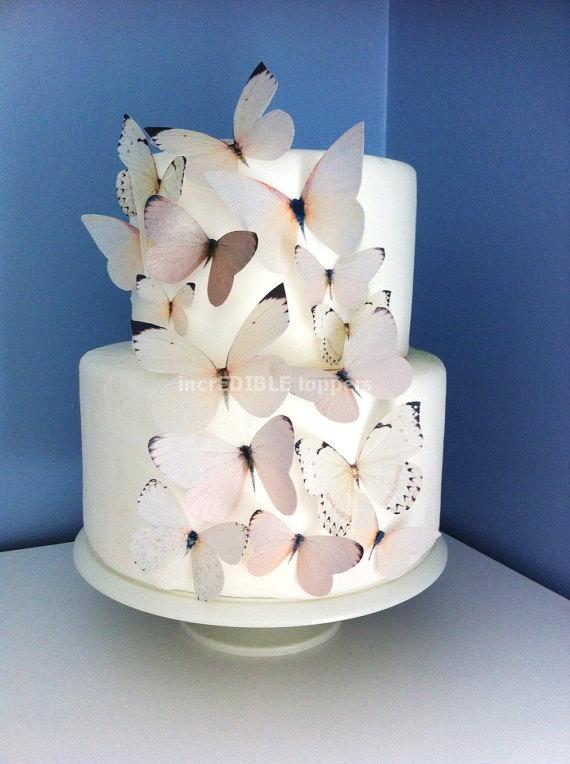 Butterflies Wedding Cake Topper
