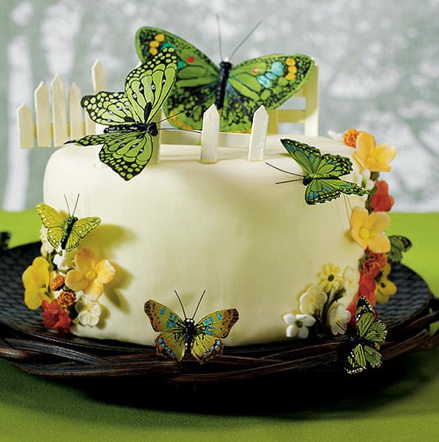Butterfly Wedding Cake Decoration