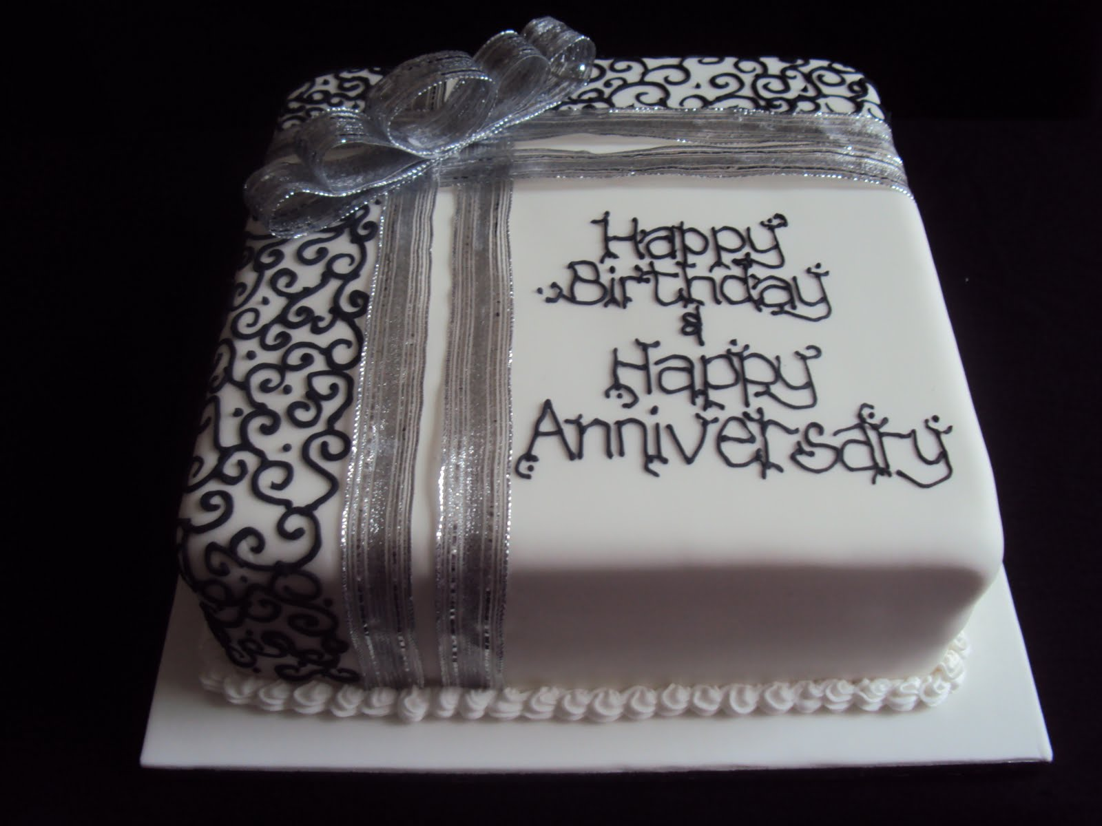 Cake Elegant Happy Birthday Pastor