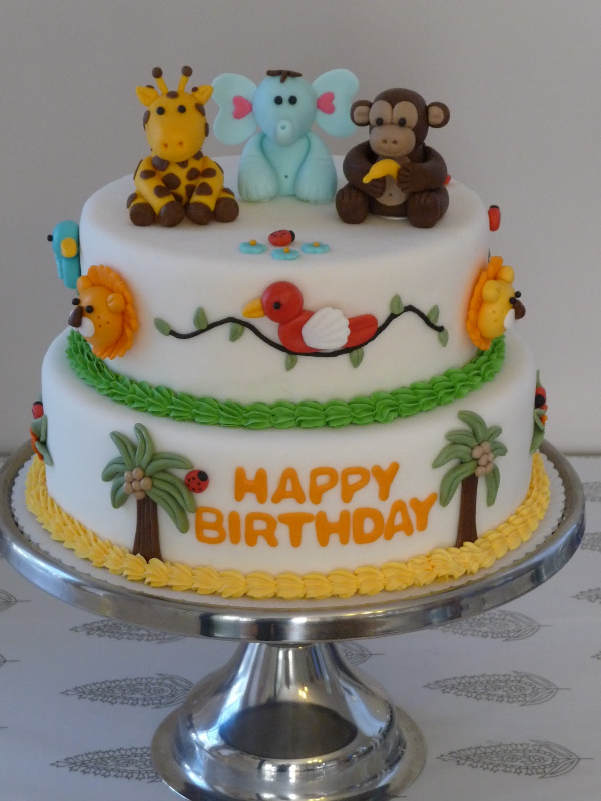 Cakes Fondant Animals