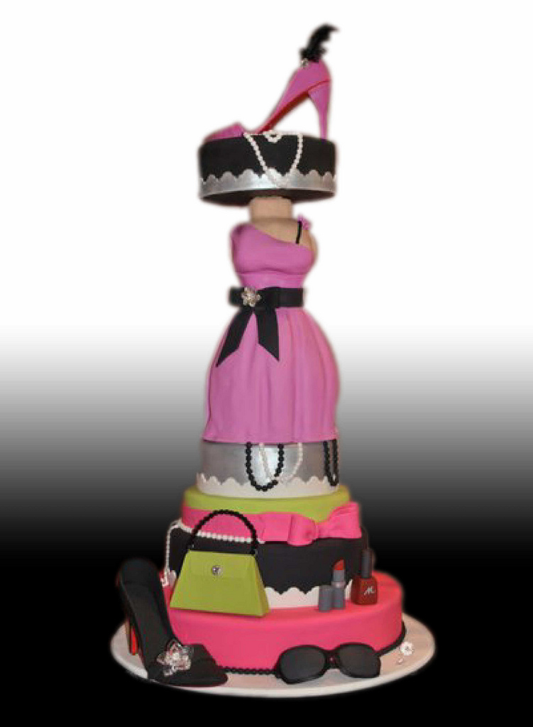 Cakes Sweet 16 Fashion Themes