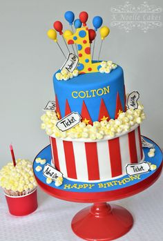 Carnival Birthday Cake Ideas