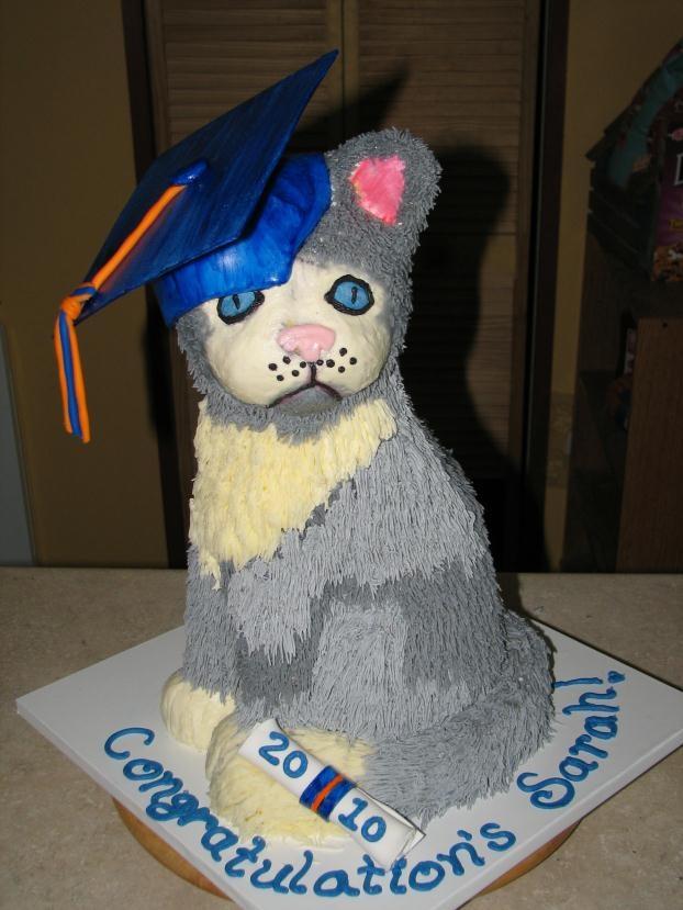 Cat with Graduation Cap