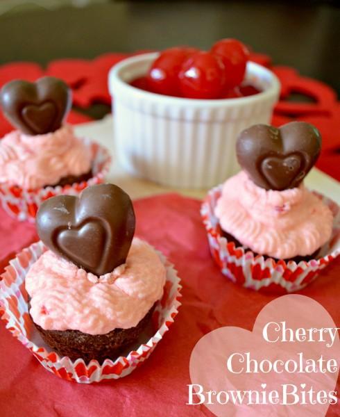 Chocolate Cherry Brownie Cupcakes