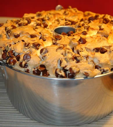 Chocolate Chip Angel Food Cake