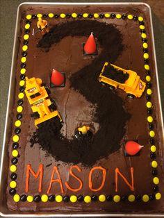 Construction Party Birthday Cake 3