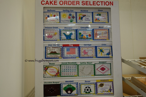 Costco Sheet Cake Designs
