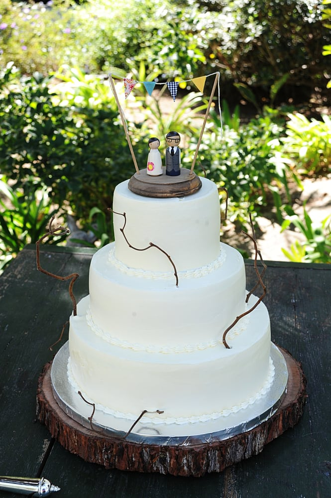 Country Themed Wedding Sheet Cakes