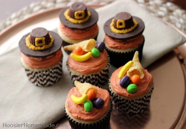 Cute Thanksgiving Cupcake Decorating Ideas
