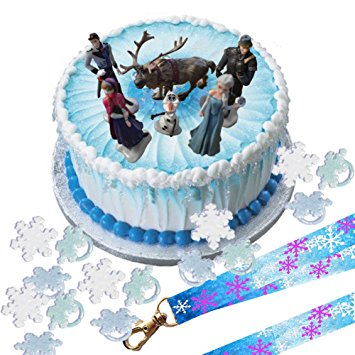 Disney Frozen Birthday Cake Topper
