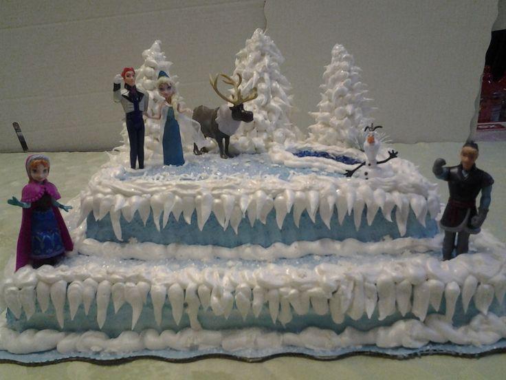Disney Frozen Cake Design